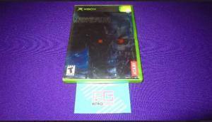 The Terminator Dawn Of Fate Xbox Clasico