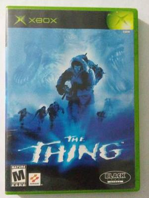 The Thing Xbox Clasico Original Cosa Otro Mundo Stephen King