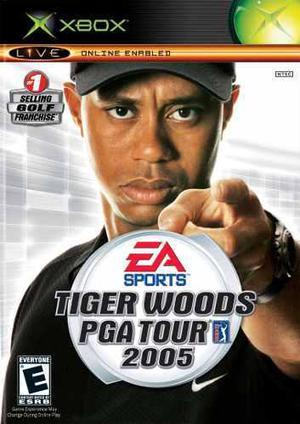 Tiger Woods Pga Tour 2005 Para Xbox Clasico Envio Gratis
