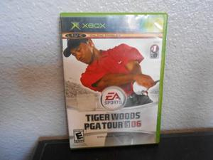 Tiger Woods Pga Tour 2006 - Xbox Clasico