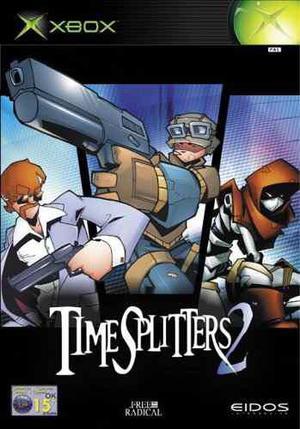 Time Splitters 2 Xbox Clasico Envio Gratis