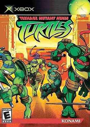 Tmnt Teenage Mutant Ninja Turtles Xbox Clásico