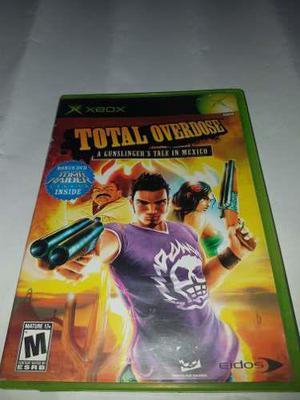 Total Overdose Xbox Clasico (cementerio De Los Videojuegos R