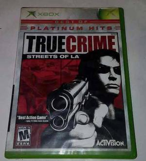 True Crime Streets Of La Para Xbox Clasico