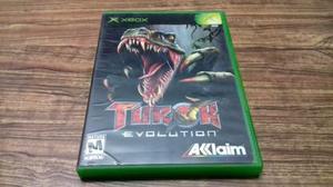 Turok Evolution Para Xbox Clasico, Checalo!!