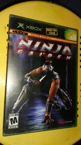 Video Juego Ninja Gaiden Xbox Clásico Original Con Envío