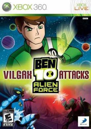 Videojuego: Ben 10 Alien Force: Vilgax Attacks Para Xbox