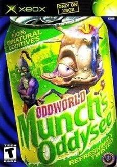 Videojuego Munchs Oddysee Para Xbox Clasico