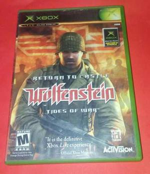 Wolfenstein Tides Of War Xbox Clasico