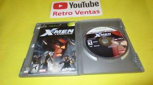 X Men Legends Xbox Clasico Hasta 4 Players