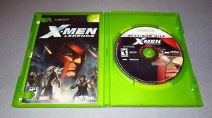 X Men Legends Xbox Clasico Xmen Legends Xbox Hasta 4 Players