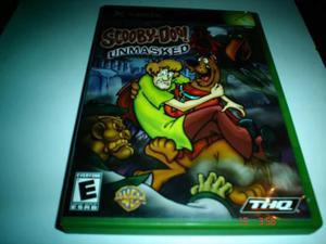 X-box Scooby Doo Unmasked Xbox Clasico