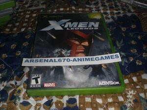 X-box X-men Legends Xbox Clasico