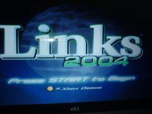 Xbox Clasico Juego Golf Links 2004 Compatible X360