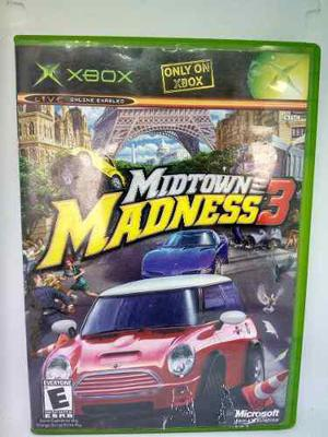 Xbox Clásico Midtown Madness 3. Fun Labs