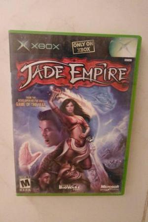 Xbox Videojuego Jade Empire Aventura Oriental Epica