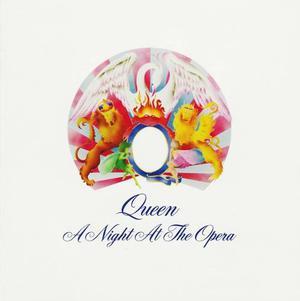 A Night At The Opera - Queen - Disco Cd - 12 Canciones
