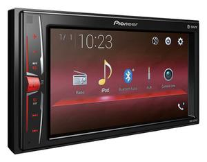 Auto Estéreo Pioneer Mvh-a205bt Bluetooth 2 Din Ipod Iphone
