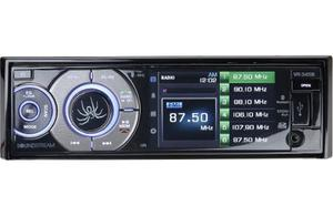 Autoestereo Con Pantalla Y Bluetooth Soundstream Vr-345b Usb