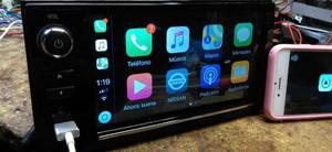 Autoestereo Pantalla Nissan Frontier Carplay Android Aux Usb