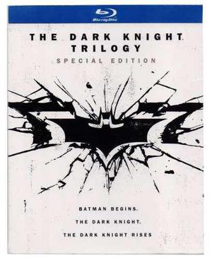 Batman The Dark Knight Trilogia Caballero De Noche Blu-ray