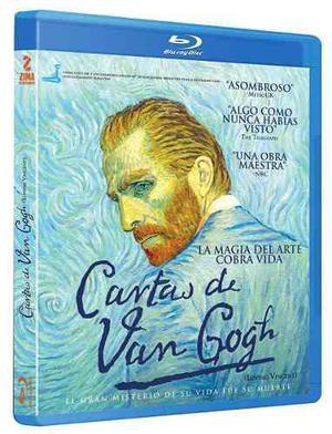 Cartas De Van Gogh Loving Vincent Pelicula Blu-ray