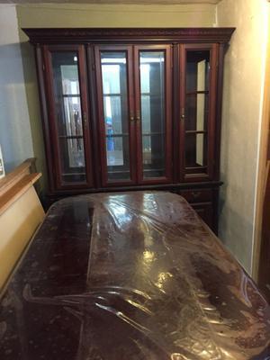 Comedor Rectangular 6 sillas/ Mesa / Bufetera / Trinchador