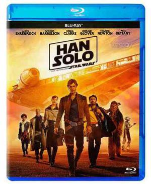 Han Solo Una Historia De Star Wars Pelicula Blu-ray
