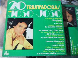 Jose Jose Disco Vinyl Lp De 12 20 Triunfadoras
