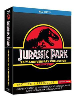 Jurassic Park 25 Aniversario Coleccion Peliculas Blu-ray