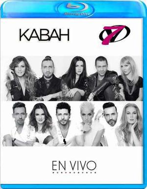 Kabah Y Ov7 En Vivo Blu-ray + 2 Cds