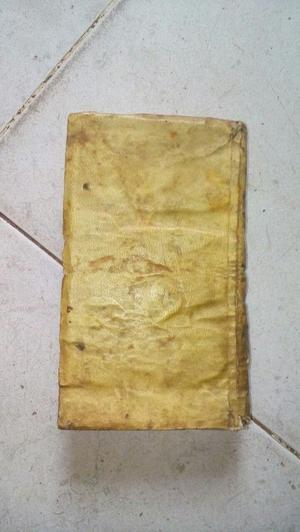 LIBRO ANTIGUO DE TEOLOGIA EN LATIN DEL SIGLO XVIII DE