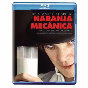 La Naranja Mecanica Pelicula Blu-ray
