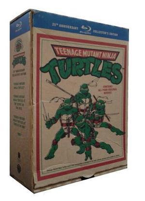 Las Tortugas Ninja Boxset 25 Aniversario Peliculas Blu-ray