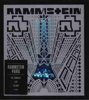 Paris - Rammstein - 2 Discos Cd - Nuevo (22 Canciones)