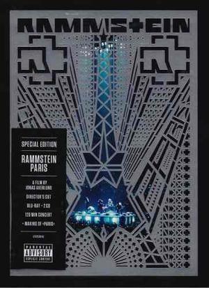 Rammstein - Paris - Blu-ray + 2 Discos Cd - Nuevo