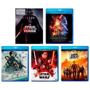 Star Wars Saga Episodios 1- 8 + Rogue One + Han Solo Blu-ray