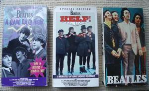 The Beatles Peliculas Vhs De Coleccion