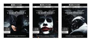The Dark Knight Trilogia Paquete 4k Ultra Hd + Blu-ray