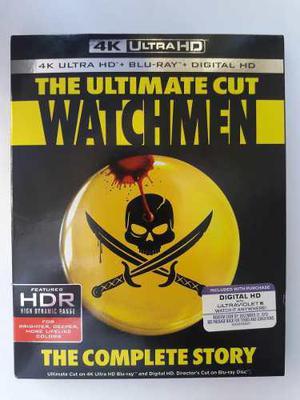 Watchmen The Ultimate Cut Pelicula 4k Ultra Hd + Blu-ray