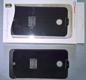 Bateria tipo funda para Motorola Nexus 6