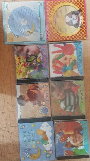 CDs Educativos de Valores - Remato Lote