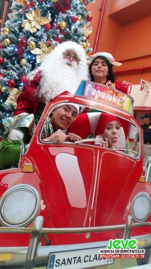 Celebra la navidad con Papa Noel y sus duendes