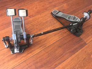 Doble pedal para bateria