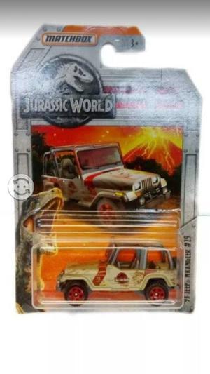 Jurassic World Jeep Matchbox