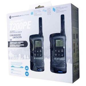 Motorola T200 Equipo De Radio Frecuencia 32km 22ch Gmrs