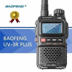 Radio Portatil Baofeng Uv-3r + Plus Vhf/uhf Nuevo En Caja