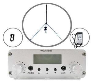 Transmisor Radio Fm De 20 Watts Con Cable Rg8 Envio Gratis