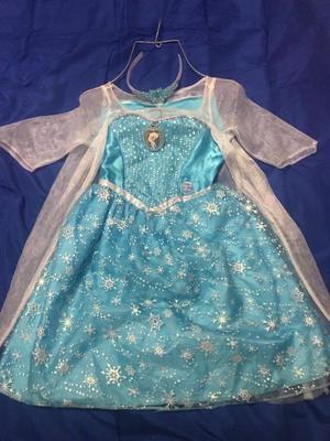 Vestido de frozen con luz y sonido original