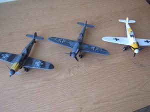 4paket Aviones Bf-109 De La 2da. G. M. De Plastico Esc. 1:48